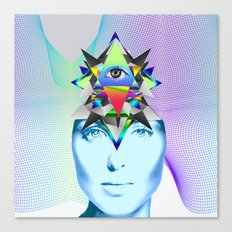 Psychedelic Woman Canvas Print