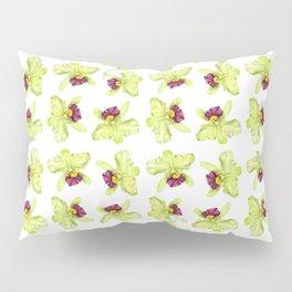 Cattleya Orchids Pillow Sham