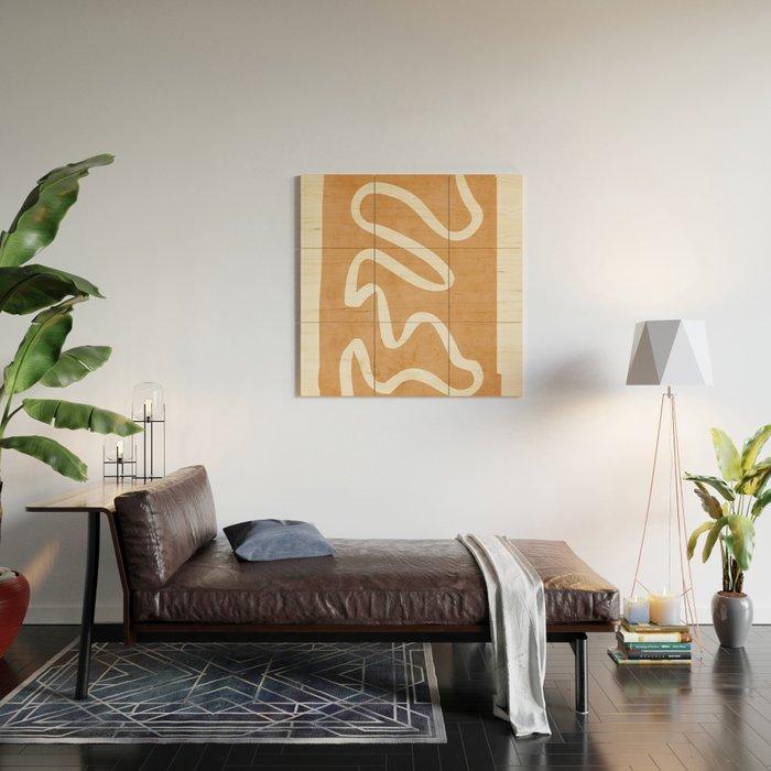 abstract minimal 31 Wood Wall Art