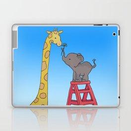 Uneven height love Laptop & iPad Skin