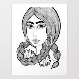 Rupi Kaur Art Print