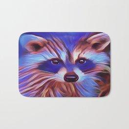 The Raccoon Bandit Bath Mat