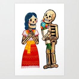 El amor verdadero Art Print