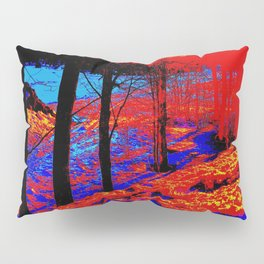 Snow Fire Pillow Sham
