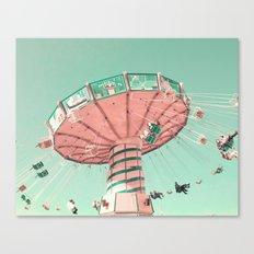 Pastel Flight Canvas Print