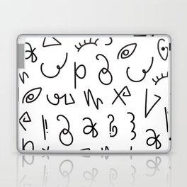 Secret Lettering Laptop & iPad Skin