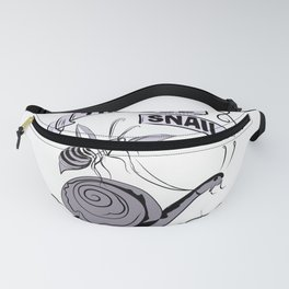The Bee and Snail Fanny Pack