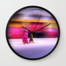 In Sync in Senegal Wall Clock