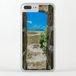 Break Free of Your Walls Clear iPhone Case