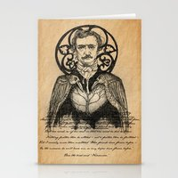 poe Stationery Cards featuring POE by CincottaStore