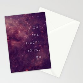 The Places You'll Go I Stationery Cards