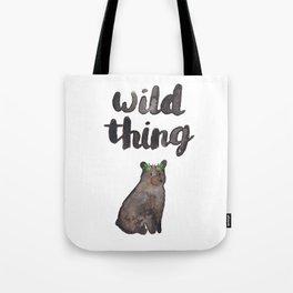 Wild Thing Bear Tote Bag