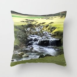 Trickle, Trickle Throw Pillow