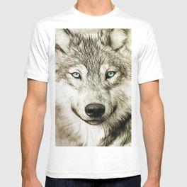Smokey Sketched Wolf T-shirt