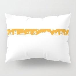 Find your angle_Travel_MonoOrange Pillow Sham