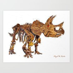 Animal companion Art Print