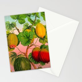 Gooseberry Fruit Branch Stationery Cards