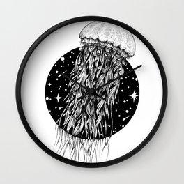 Jellyspace (Jellyfish) Wall Clock