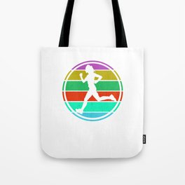 Eat Sleep Run Repeat I  Design for Running women Tote Bag