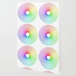 Drinking Straw Mandala Wallpaper