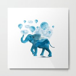Elephant XIX Metal Print