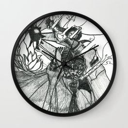 The Future of vision Wall Clock