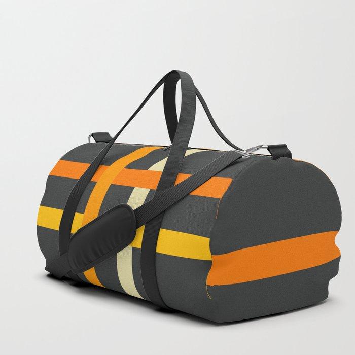 Churel - Classic Stripes Design Duffle Bag