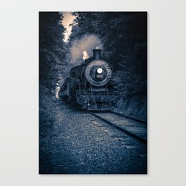 Night Train Canvas Print