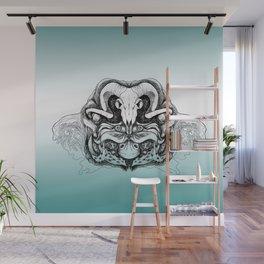 Skull Composition Wall Mural
