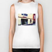 cinema Biker Tanks featuring Cinema Roma by Red Bicycle - Amber Elen-Forbat