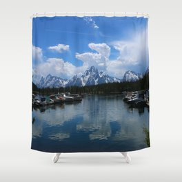 Colter Bay  - Jackson Lake Shower Curtain