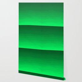Happy Bright Apple Green Ombre Wallpaper