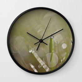 Dew Drop Wall Clock