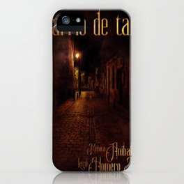 Barrio de tango iPhone Case