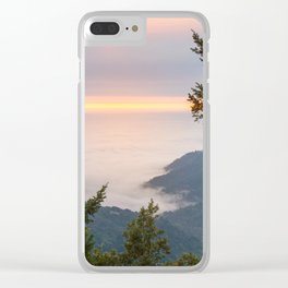Sunset at the King Range Clear iPhone Case