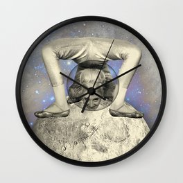 COSMIC CONTORTIONIST Wall Clock
