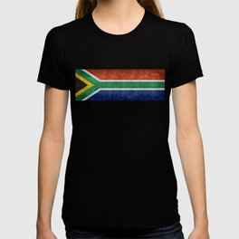 National flag of the Republic of South Africa - Banner version T-shirt
