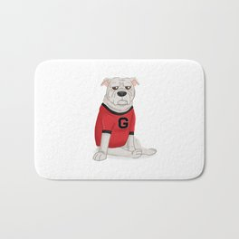 Another bulldog from Georgia Bath Mat