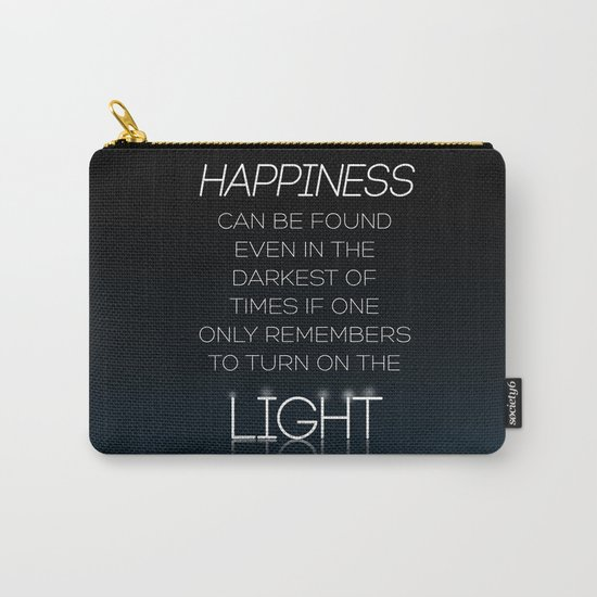 Harry Potter Albus Dumbledore Quote Carry-All Pouch
