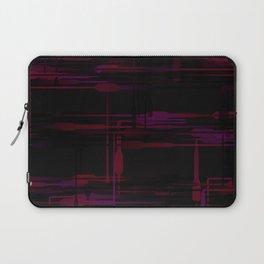 Purple Passion Plumbing Abstract Laptop Sleeve
