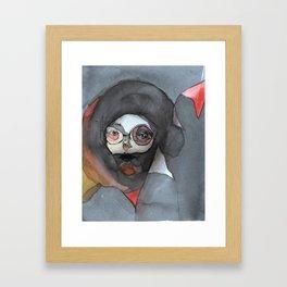 amelia bedelia might killia by lisa g bauer Framed Art Print