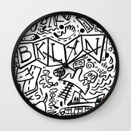 BKLYN/KT Wall Clock
