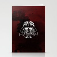 darth vader Stationery Cards featuring Darth Vader by vrdgrs