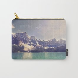 Breathe, Exhale, Repeat Carry-All Pouch