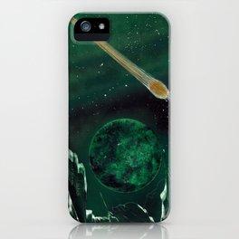 Copper Colored Comet Cometh iPhone Case