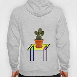 Abstract Reality - Cactus On A Table Hoody