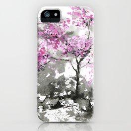 Sumie No.2 Plum Blossoms iPhone Case