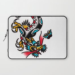 American traditional dragon Laptop Sleeve