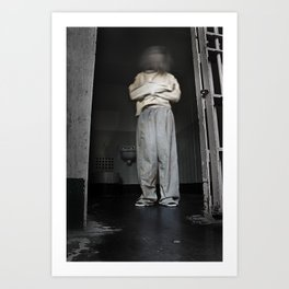 Cell Block D Art Print
