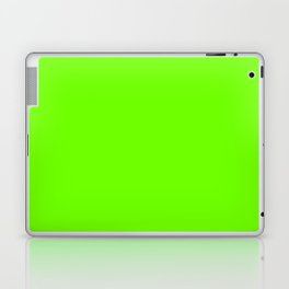 Bright Fluorescent  Green Neon Laptop & iPad Skin